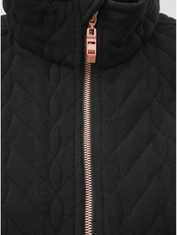 Čierna dámska tenká fleecová bunda killtec Loorea