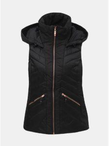Čierna dámska nepremokavá prešívaná vesta killtec Ryskia