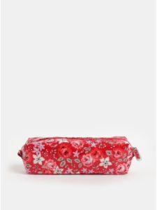 Červený dievčenský kvetovaný peračník Cath Kidston