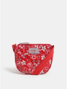 Červená dievčenská kvetovaná kabelka Cath Kidston