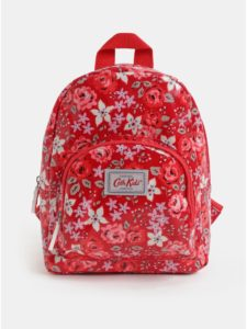 Červený dievčenský kvetovaný batoh Cath Kidston