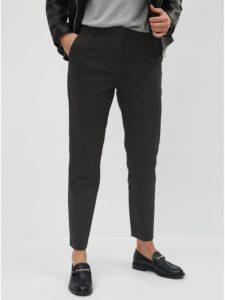 Čierne kostýmové nohavice VILA Delia