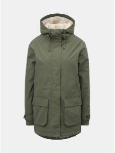 Zelená dámska zimná bunda Nugget Hita