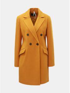 Horčicový kabát Dorothy Perkins