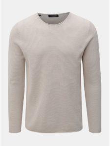 Béžový tenký sveter s dlhým rukávom Selected Homme Rocky