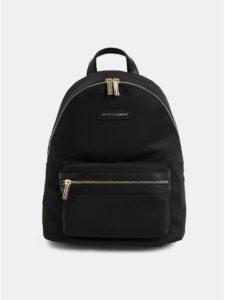 Čierny elegantný batoh Smith & Canova