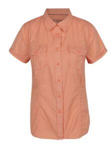 c82c07c90 Oranžová dámska košeľa s krátkym rukávom BUSHMAN Tees