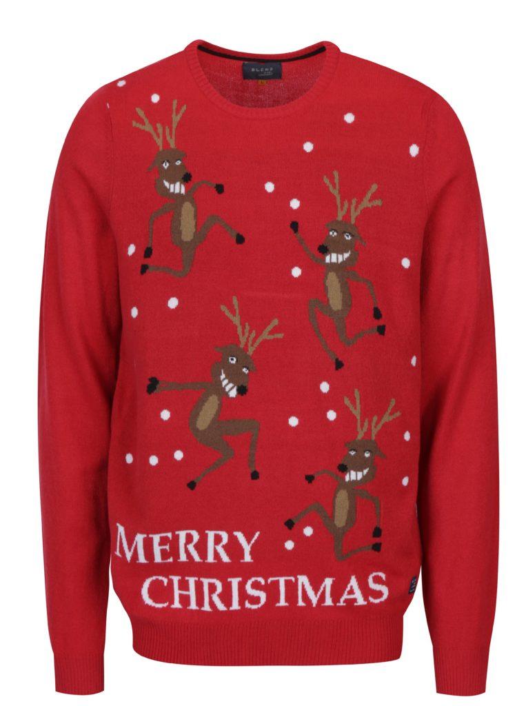 Pánsky vianočný sveter Merry Christmas