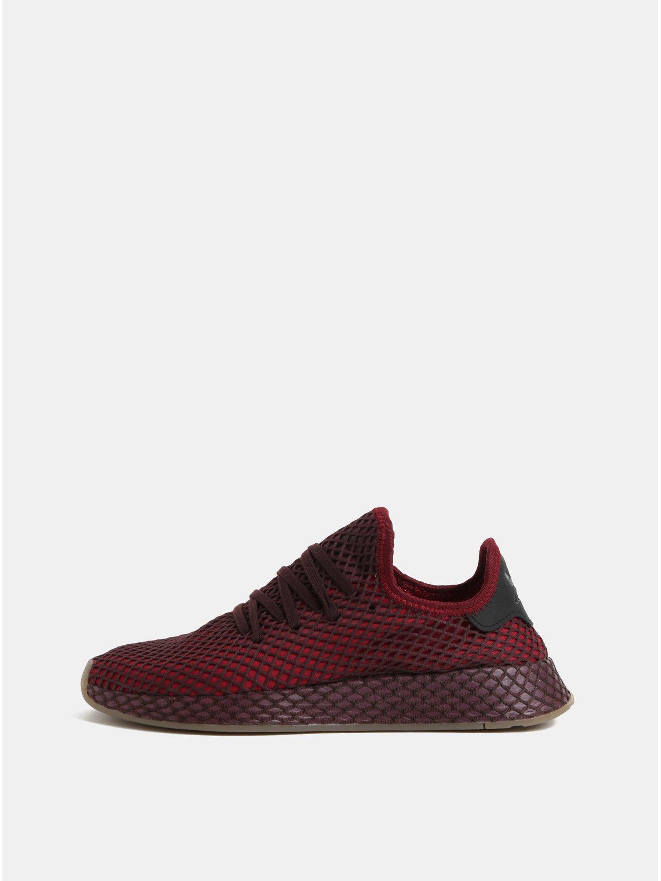 819941ce4 Vínové pánske sieťované tenisky adidas Originals | Moda.sk