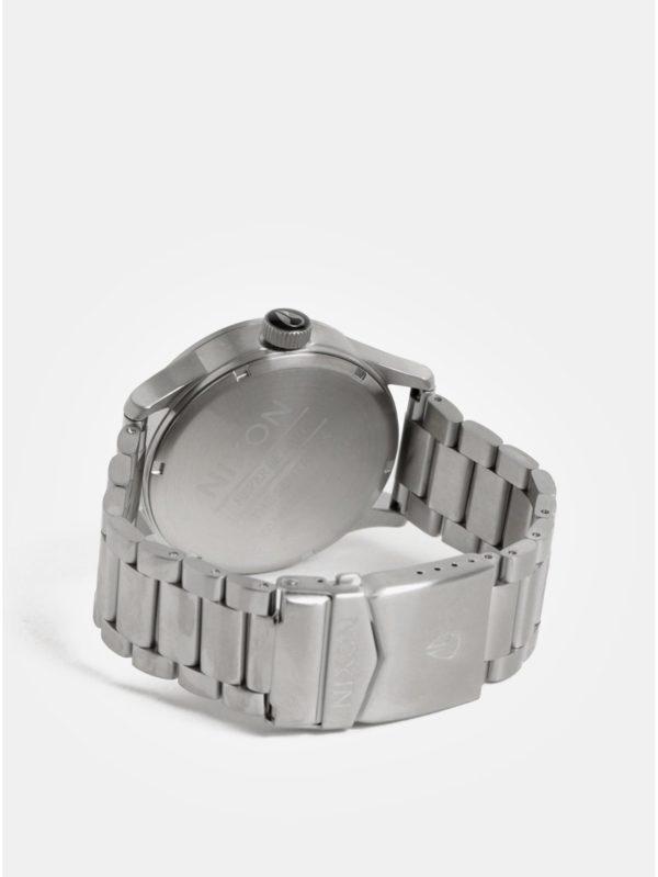 Pánske hodinky s nerezovým remienkom v striebornej farbe NIXON