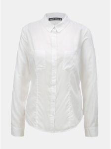 Biela košeľa s náprsnými vreckami TALLY WEiJL