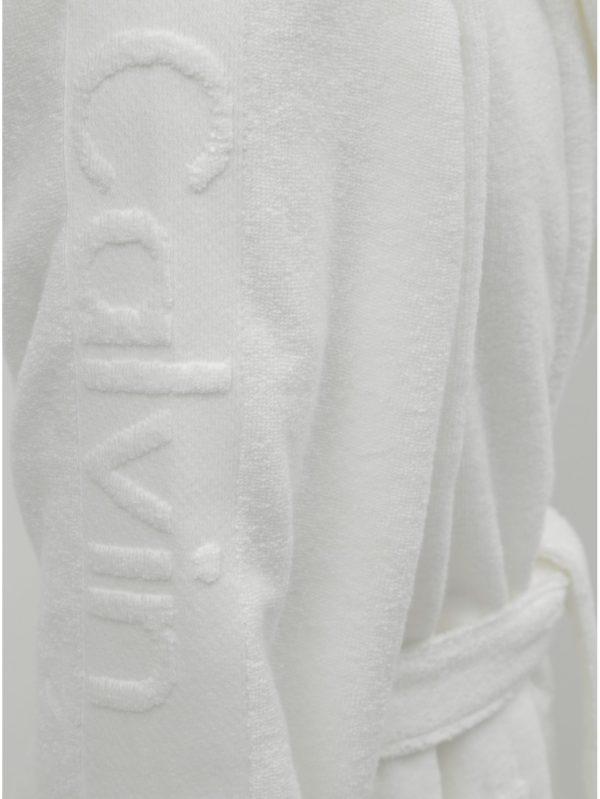 Biely pánsky župan na zaväzovanie Calvin Klein Underwear