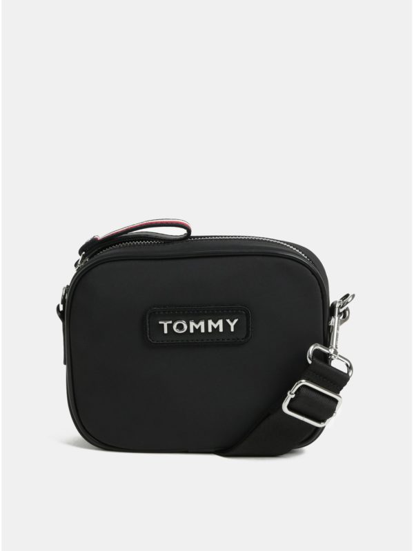 Čierna crossbody kabelka Tommy Hilfiger