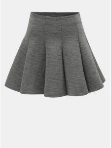 Sivá melírovaná sukňa TALLY WEiJL