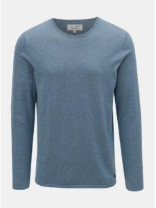 Modrý pánsky tenký sveter Tom Tailor Denim