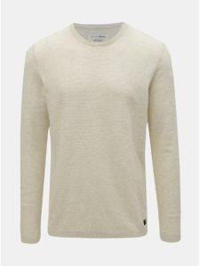 Krémový pánsky tenký sveter Tom Tailor Denim