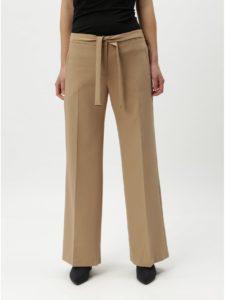 Béžové nohavice so zaväzovaním Oasis Ultimate