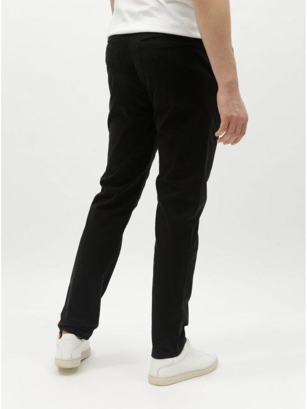 80fc50f03ce6 Čierne pánske slim chino nohavice Tom Tailor D