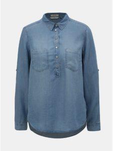 Modrá dámska rifľová košeľa Tom Tailor