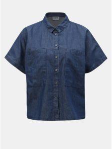 Modrá rifľová voľná košeľa Noisy May Lola