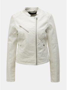 dc7015f805df Biela koženková bunda VERO MODA Nora