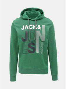 40ff0b3660a1 Zelená mikina s potlačou Jack   Jones Tilly
