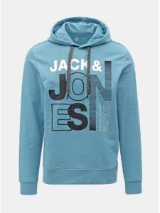 e4c06ceccbcd Modrá mikina s potlačou Jack   Jones Tilly