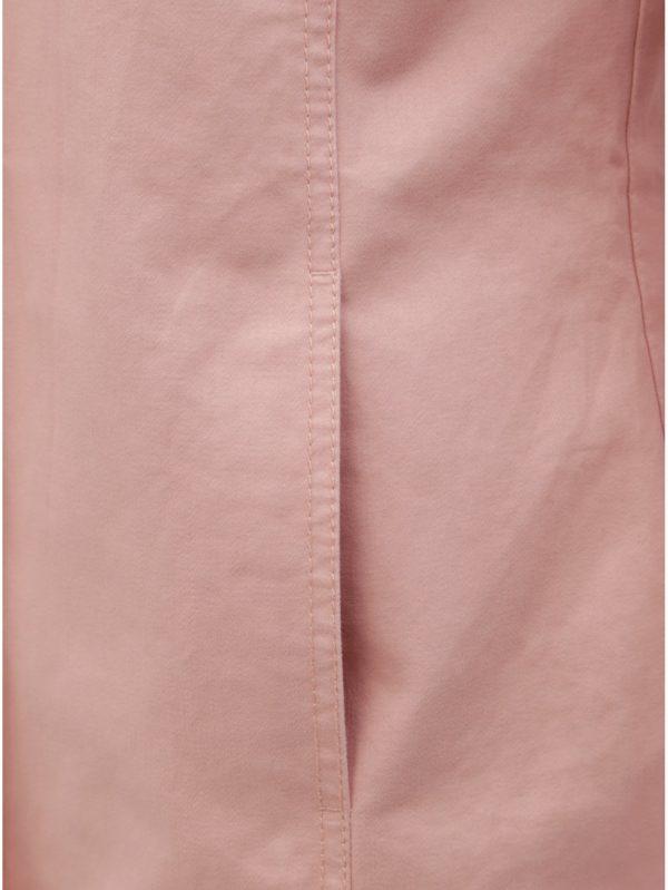 Ružová tenká bunda s kapucňou ONLY Mandy Sedona