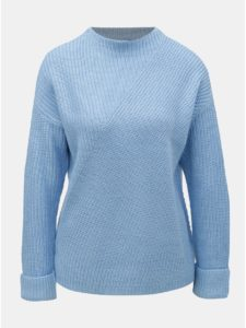 Svetlomodrý sveter so stojačikom Dorothy Perkins