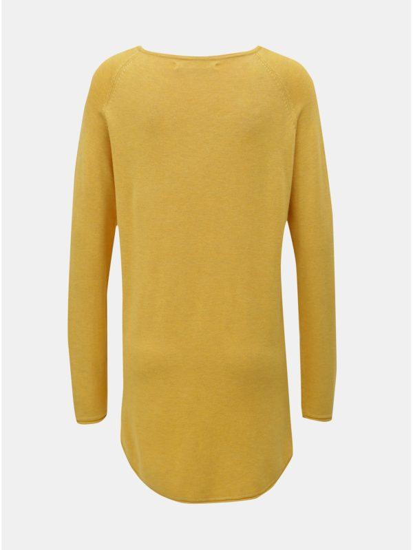Žltý tenký sveter ONLY Mila