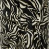 Čierno–krémový top so zebrovaným vzorom Dorothy Perkins