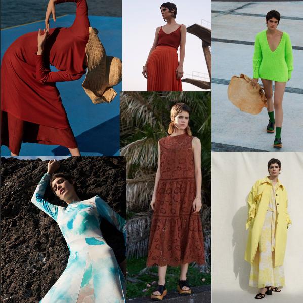 nazorna ukazka farieb jarnej kolekcie Reserved 2019