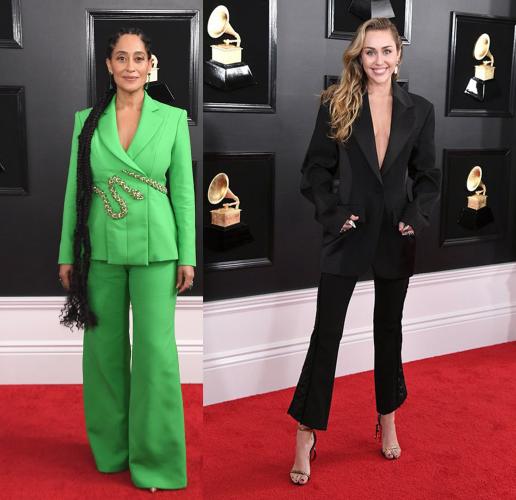 ukážka aký oblek si vybrali dve rôzne celebrity
