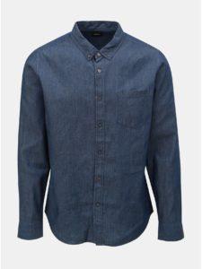 Modrá rifľová košeľa Burton Menswear London