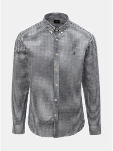 Bielo–modrá kockovaná košeľa Burton Menswear London