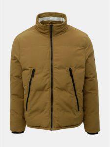 Hnedá zimná bunda Burton Menswear London