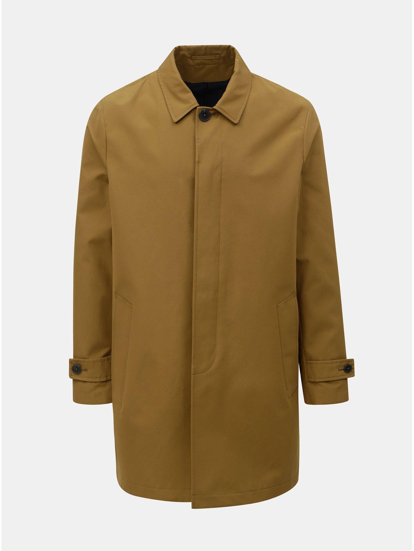 4b8dca836 Hnedý kabát Burton Menswear London   Moda.sk