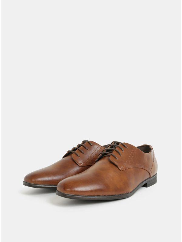 bab97d0a50 Hnedé pánske poltopánky Burton Menswear London