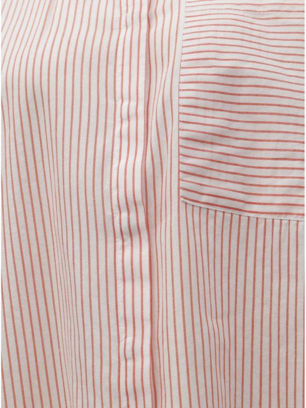 Červeno–biela pruhovaná košeľa ONLY Carry
