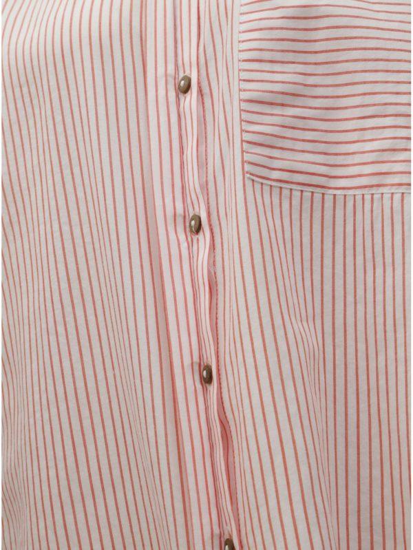 34227d7eb181 Červeno–biela pruhovaná košeľa ONLY Carry