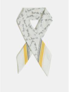 Žlto–krémová šatka ONLY Statement