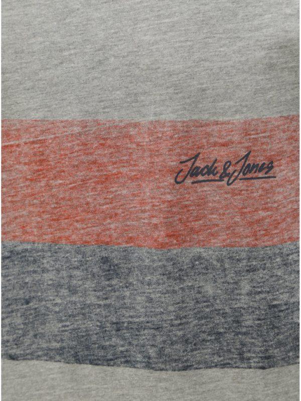 Sivé melírované tielko Jack & Jones Shakedowns