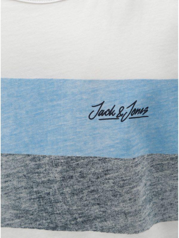 Modro–biele tielko Jack & Jones Shakedowns