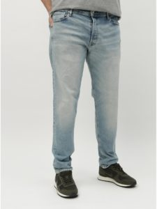Svetlomodré tapered rifle Jack & Jones Fred