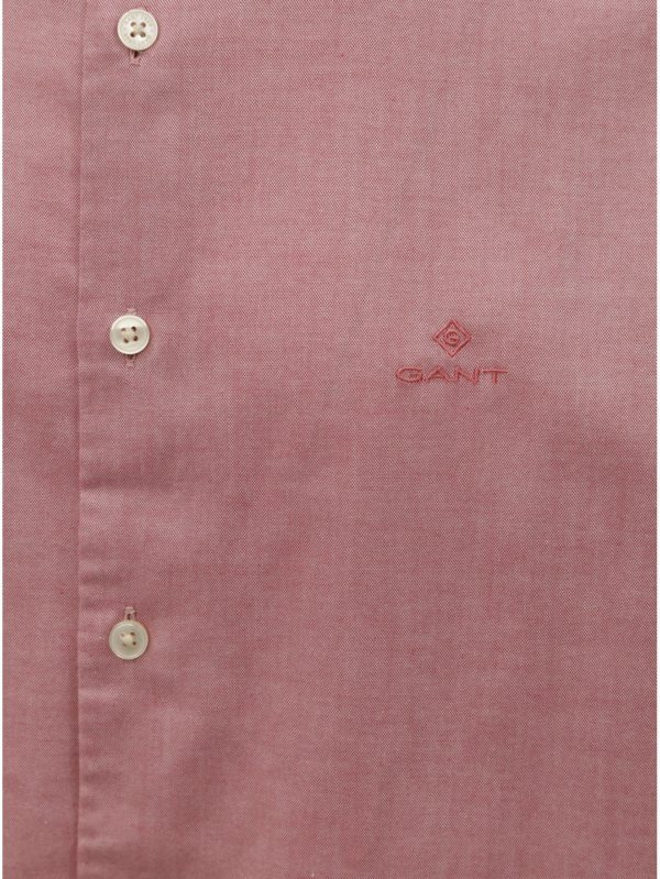 Ružová pánska regular fit košeľa GANT