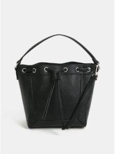 Čierna vaková kabelka Pieces Balbina