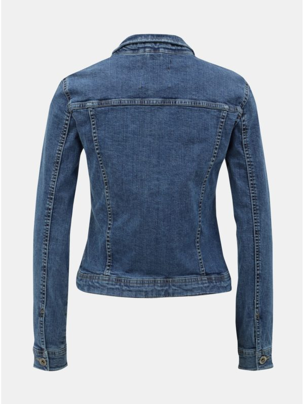 Modrá rifľová bunda ONLY Tia