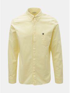 Svetložltá regular fit košeľa Selected Homme Collect