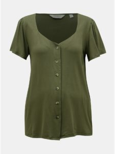 Kaki tehotenské tričko Dorothy Perkins Maternity