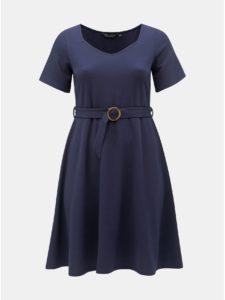Tmavomodré šaty Dorothy Perkins Curve